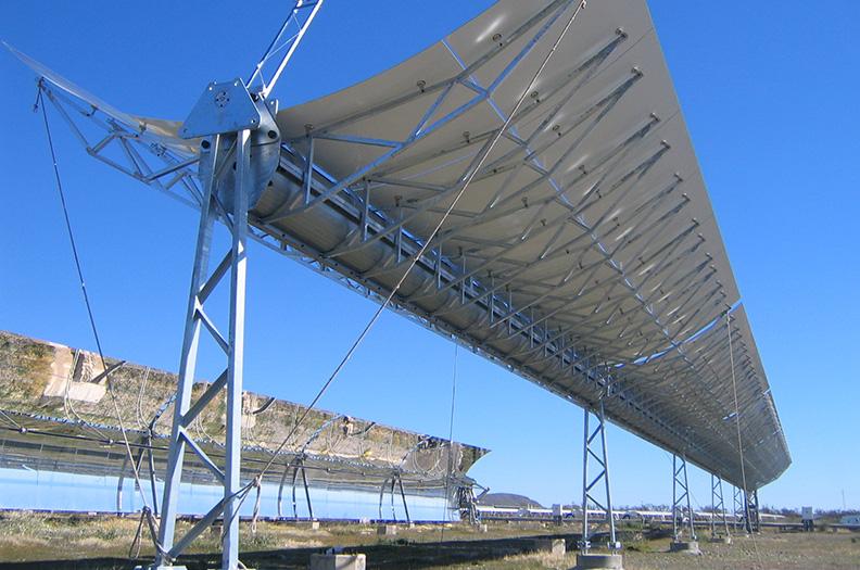 Welser_Energiegewinnung_Trägerprofile_solarthermische_Kraftwerke