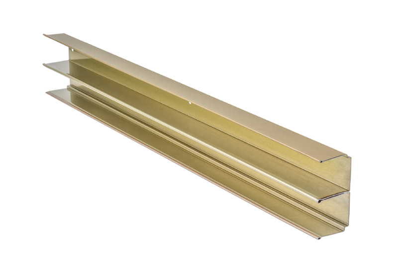 Guide rail for cabinets