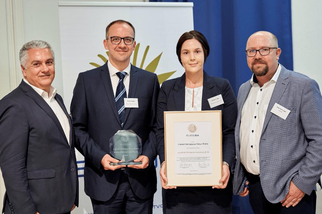 Eucusa Award für exzellente Mitarbeiterorientierung